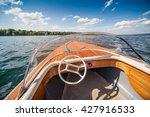 Boat On Lake.