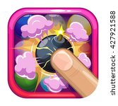 funny cartoon game app icon...
