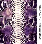 snake skin background  | Shutterstock . vector #427926988