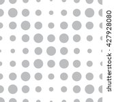 halftone dots pattern. dotted... | Shutterstock .eps vector #427928080