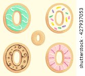 the different types of the o... | Shutterstock .eps vector #427937053