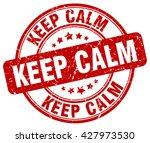 keep calm. stamp | Shutterstock .eps vector #427973530