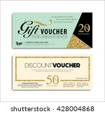 gift voucher    Shutterstock .eps vector #428004868