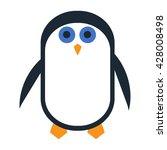 penguin icon | Shutterstock .eps vector #428008498