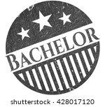bachelor draw  pencil strokes  | Shutterstock .eps vector #428017120