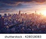 new york city before sunrise   Shutterstock . vector #428018083