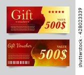 vector illustration gift... | Shutterstock .eps vector #428023339