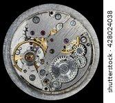 clockwork old mechanical ussr... | Shutterstock . vector #428024038