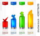 infographic elements color... | Shutterstock .eps vector #428078698