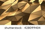 luxury gold abstract design... | Shutterstock . vector #428099404