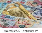 banknotes of united arab...   Shutterstock . vector #428102149