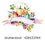 Colorful Autumn Bouquet With...