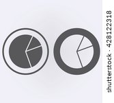 pie chart icon set in circle ....