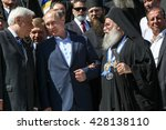 mount athos  greece   may 28 ... | Shutterstock . vector #428138110