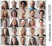 laughing people   Shutterstock . vector #428172229
