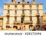 split  croatia   aug 22  2014 ... | Shutterstock . vector #428172496