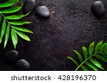 dark spa background ... | Shutterstock . vector #428196370