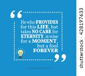 inspirational motivational... | Shutterstock .eps vector #428197633