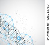 science template  wallpaper or... | Shutterstock .eps vector #428212780