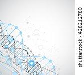science template  wallpaper or... | Shutterstock .eps vector #428212780