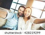 capturing bright moments.... | Shutterstock . vector #428219299