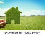 green eco house environmental... | Shutterstock . vector #428219494