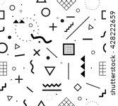 geometric seamless pattern.... | Shutterstock .eps vector #428222659