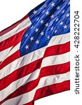 close up of an american flag... | Shutterstock . vector #428222704