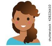 user avatar woman | Shutterstock .eps vector #428226610