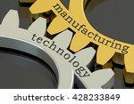 manufacturing technology... | Shutterstock . vector #428233849
