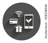 wireless mobile payments icon....