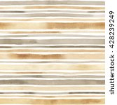 watercolor striped seamless... | Shutterstock . vector #428239249