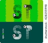 football  soccer  vector set of ...