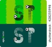 football  soccer  vector set of ...