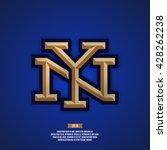 modern professional new york... | Shutterstock .eps vector #428262238