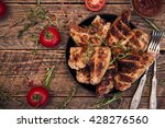 food and drink concept  ... | Shutterstock . vector #428276560