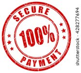 100 Secure Payment Stamp Vecto...