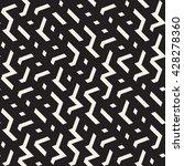 vector seamless black and white ... | Shutterstock .eps vector #428278360