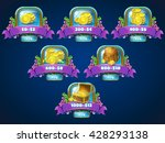 set of different buttons ... | Shutterstock .eps vector #428293138