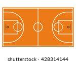basketball court. field... | Shutterstock .eps vector #428314144