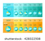 weather forecast. weather... | Shutterstock .eps vector #428322508