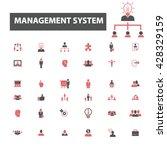 management icons    Shutterstock .eps vector #428329159