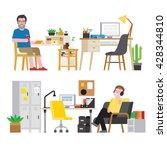 workspace | Shutterstock .eps vector #428344810