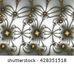 abstract fractal background... | Shutterstock . vector #428351518