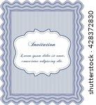retro invitation. superior...   Shutterstock .eps vector #428372830