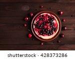 summer dessert on wooden... | Shutterstock . vector #428373286