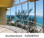 A View Of The Ocean Through An...