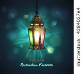 ramadan kareem greeting... | Shutterstock .eps vector #428402764