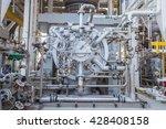 gas turbine compressor radial... | Shutterstock . vector #428408158