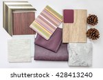 The Sample Of Material Color...